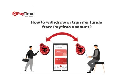 How to transfer funds from Paytime account?
